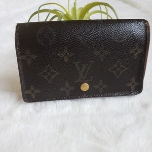 Louis Vuitton porte Monet billets tresor wallet